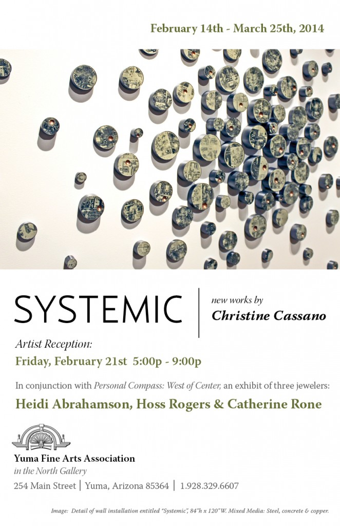 Christine Cassano - Systemic Exhibit