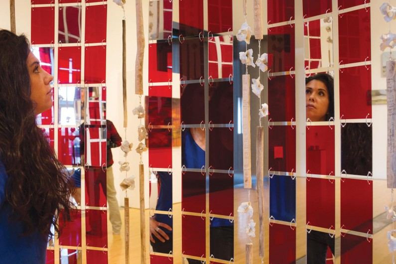 Inside Installation with Mirrors