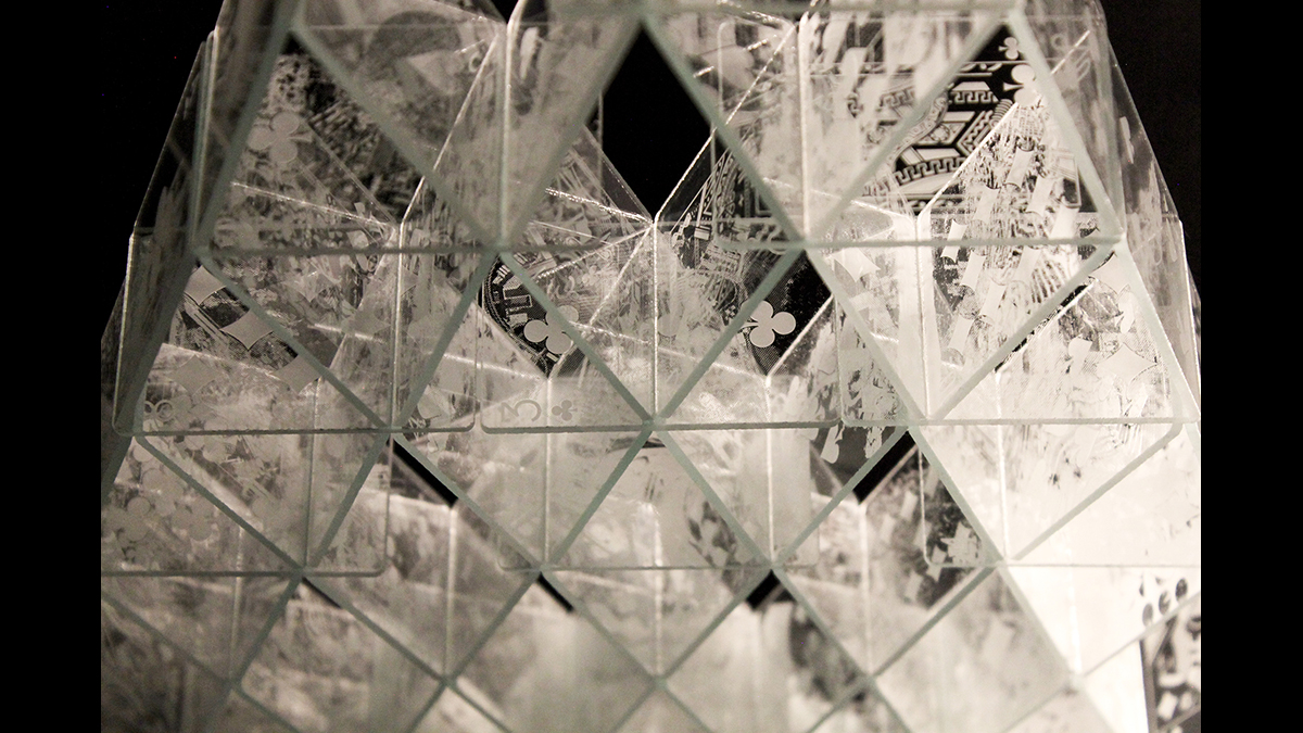 Glasshouse of Cards (detail)