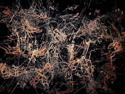 Oscillation Painting Series